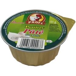 """""""Profi"""" Vištienos paštetas su česnaku 131g (Poultry pate with garlic)"""