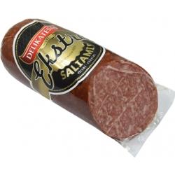 """DLKTS """"Extra Saliamis"""" Virtas rūkytas £7,44 kg ~430g(Cooked smoked)"""