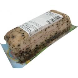 Lašiniai su pipiru ir česnaku,pakuotė  375g £9,49 kg (Lard with pepper and garlic)