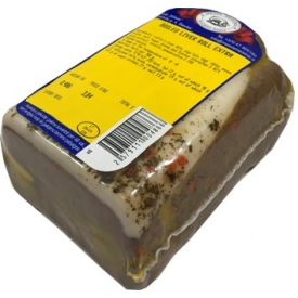 """MS""Virtas kepenų viniotinis ~450g £4,60kg (Boiled liver roll)"