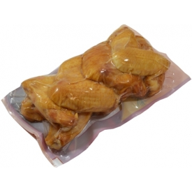 """""""Sokolow""""Parūkyti vištų sparneliai £0.57 per100g(Smoked chicken wings)"""