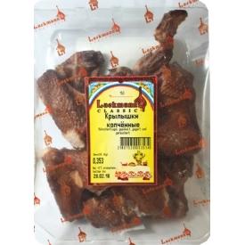 """""""Lackman""""Parūkyti vištų sparneliai 350g (smoked chicken wings)"""