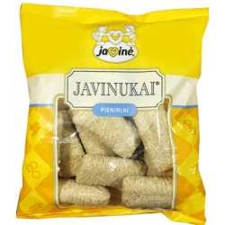 """Javinė"" Javinukai pieniniai 150g (Corn sticks with a milk filling)"