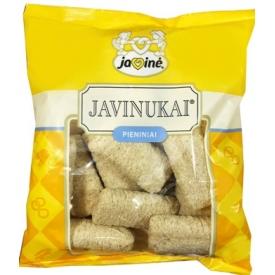 """""""Javinė"""" Javinukai pieniniai 150g (Corn sticks with a milk filling)"""