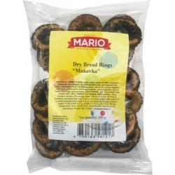"""""""Mario""""Sausi traškučiai 250g""""Makovka""""(Dry bread rings)"""