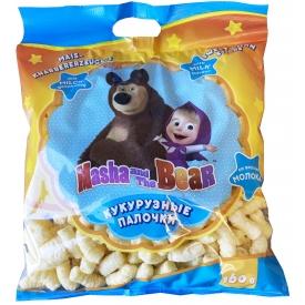 "Sweet corn sticks milk taste ""Masha and the Bear"" 160g"