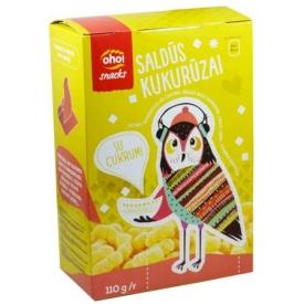 """""""Oho"""" Saldūs kukurūzai su cukrumi 110g (Sweet corn with sugar)"""