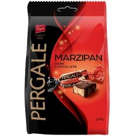 """""""Vilniaus pergalė"""" Saldainiai su juodoju šokoladu""""Marzipan"""" 225g (Sweets with dark chocolate)"""