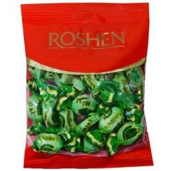 """""""Roshen"""" Mėtų skonio karamelė 126g (Hard boiled candies with mint flavour)"""