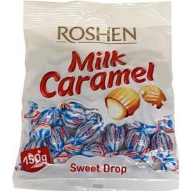 """""""Roshen"""" Pieniniai saldainiai su karamele 150g (Milky sweet caramel)"""