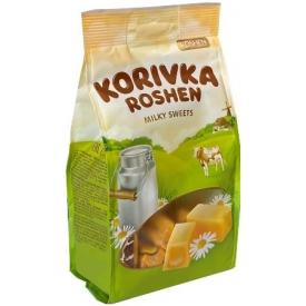 """""""Roshen"""" Pieniniai saldainiai """"Karvutė"""" 205g (Milky sweet)"""