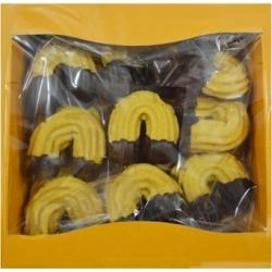 "Sausainiai ""Pasagėlė""su džemu ir šokoladu 450g(Decorated Crescent roll)"