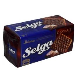"""""""Selga"""" Šokolado skonio sausainiai 180g (Chocolate taste biscuits)"""
