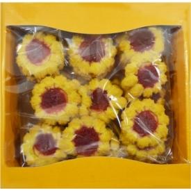 """Sausainiai""""Saulėgrąžos"""" su marmaledu 450g(Sunflower biscuits with marmalade)"""