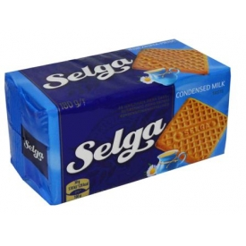 """Selga"" Kondensuoto pieno skonio sausainiai 180g (Condensed milk taste biscuits)"