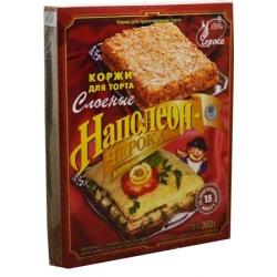 "Lakštai tortams pyragams ""Napoleon"" 360g (Puff pastry for cake)"
