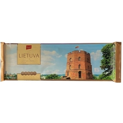 """Pergale"" Juodas šokoladas ""LIETUVA"" 250g (Dark chocolate)"