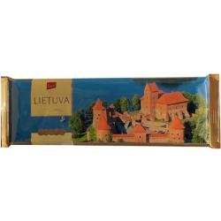 """""""Pergale"""" Juodas šokoladas Trakai """"LIETUVA"""" 250g (Dark chocolate)"""
