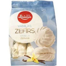 """""""Laima"""" Zefyrai vanilos skonio 200g (Zephyr vanilla taste)"""