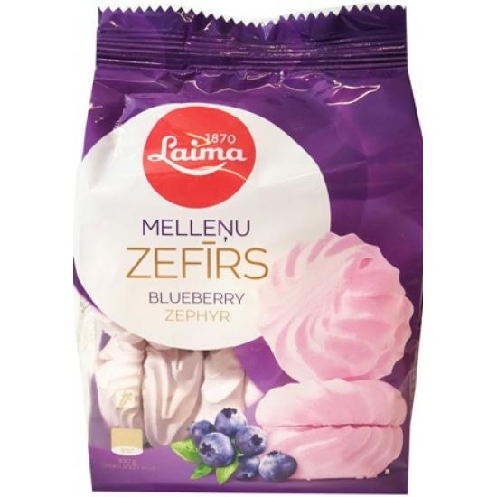 Zefyrai mėlynių skonio 200g (Zephyr blueberry taste)