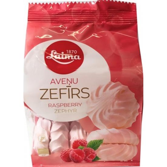 Zefyrai aviečių skonio 200g (Zephyr raspberry taste)