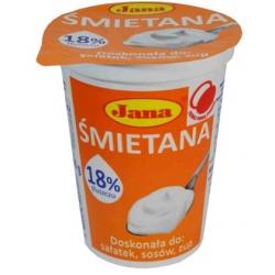 """Jana"" Grietinė 18% 400g (Sour cream)"