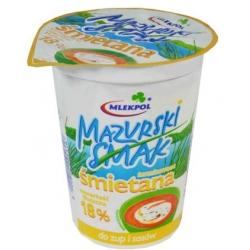 """Mazurski smak"" Grietinė 18% (Sour cream)"