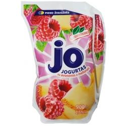 """""""Jo"""" Jogurtas su avietėmis ir melionais 900g (Yogurt with raspberries and melons)"""