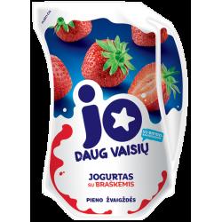 """""""JO"""" Yogurt with strawberries 900g"""