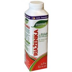 """""""Riaženka""""500g rauginto pieno gėrimas 3,2% rieb.(fermented milk with bifidobacterium)"""