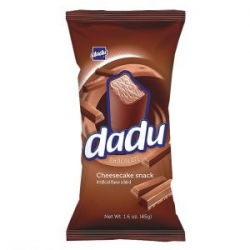 """Dadu"" Chocolate Cheesecake Bar 45g (Sūrėlis)"