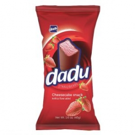 """Dadu"" Cheesecake Bar with Strawberries 45g (Sūrelis)"