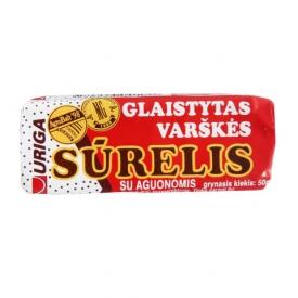 """Uriga"" Cheesecake Bar with Poppy Seeds 50g (Sūrelis)"