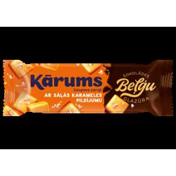 """""""Karums"""" Cheesecake Bar with Caramel and Belgium Chocolate 38g (Sūrelis)"""
