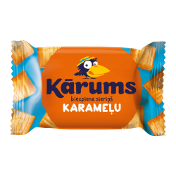 """Karums"" Cheesecake Bar with Caramel 45g (Sūrelis)"