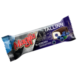 """Magija"" Cheesecake Bar with Blueberry Jam ""Tallin"" 45g (Sūrelis)"