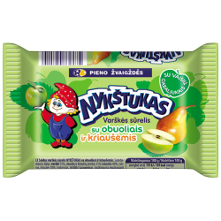 """""""Nykštukas"""" Sweet Cheese with Apple and Pear 100g (Sūrelis)"""