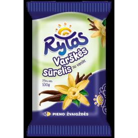 """Rytas"" Sweet Cheese with Vanilla 100g (Sūrelis)"