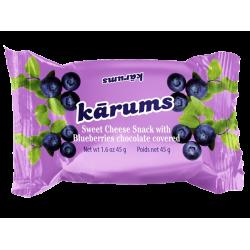 """Karums"" Cheesecake Bar with Blueberries 45g (Sūrelis)"