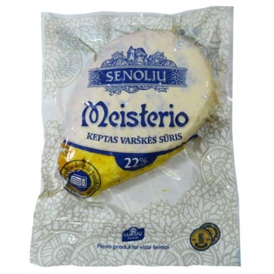 """""""Senolių"""" Meisterio keptas varškės sūris 22%~ 300g £11.99kg (Lithuanian baked curd cheese)"""