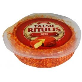 """Talsu Ritulis"" Aštrus varškes sūris 350g 48% (curd cheese, coated in spice and herbs mix)"