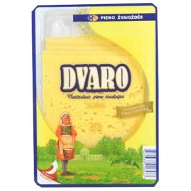 """""""Dvaro"""" Puskietis fermentinis sūris 50% 150g (Semi hard ripened cheese)"""
