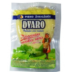 """""""Dvaro"""" Džiovintas varškės sūris 20% 110g £2,05 per 100g  (Dried curd cheese)"""