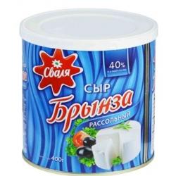 """Svalia"" Baltas sūris sūryme 40% 400g (White cheese in brine)"