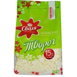 """""""Svalia"""" Varškė 450g 15% (Full fat curd)"""