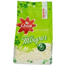 """Svalia"" Varškė 450g 9% (Medium fat curd)"