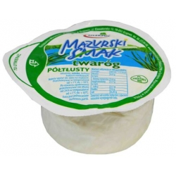 """Mazurski smak"" cottage cheese 275g,4% fat (varškė)"