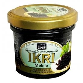 Juodi dirbtiniai ikrai 100g (Caviar sturgeaon imitation)
