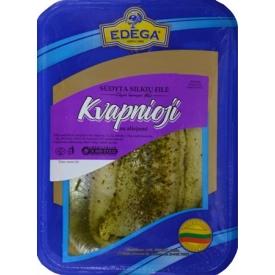 "Sūdyta silkių filė""Kvapnioji""0,4kg(herring fillet)"