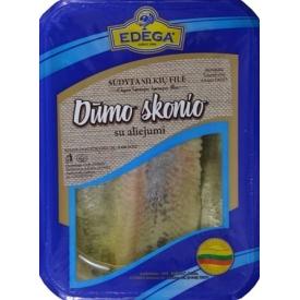 Smoke taste herring fillet with oil 400 g Seimininkes, Dumo skonio